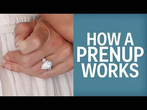 How A Prenup Works