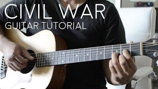 Civil War By Russ   Guitar Tutorial