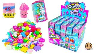 60 Shopkins Americas Season 8 Surprise Blind Bags Full Box Haul - Cookie Swirl C