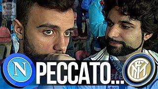 NAPOLI 0-0 INTER | PECCATO...LIVE REACTION NAPOLETANI CURVA B HD