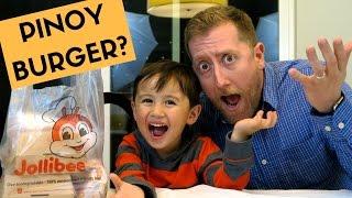 Are Jollibee Burgers Good? | MUKBANG Eating Show