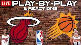 Miami Heat vs Phoenix Suns   Live Play-By-Play & Reactions