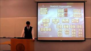 Presentation: TRADOC, the U.S. Army Training and Doctrine Command, 11/18/2010