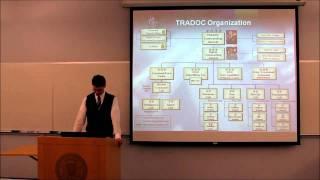 Presentation: TRADOC, the U.S. Army Training and Doctrine Command, 11/18/2010