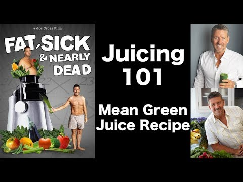 Video How To Make Mean Green Juice - Fat Sick and Nearly Dead Movie Recipe