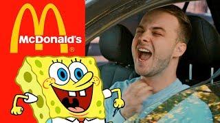 ГУБКА БОБ в McDonald