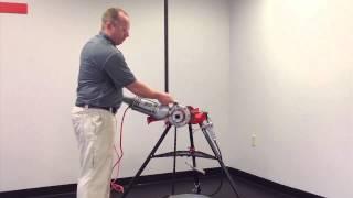 Watch Ridgid 41935 #700 Power Hand Threader Overview