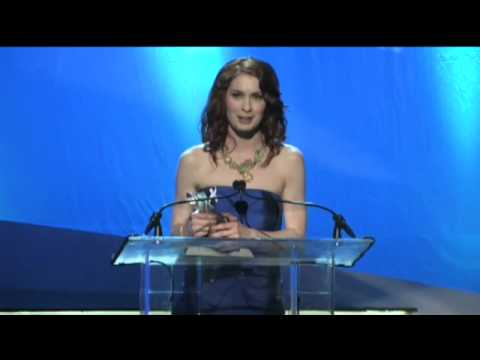 Felicia Day na Streamy Awards 2010