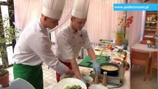 Warsztaty kulinarne - polędwiczki wieprzowe w sosie musztardowym www.podtezniami.pl