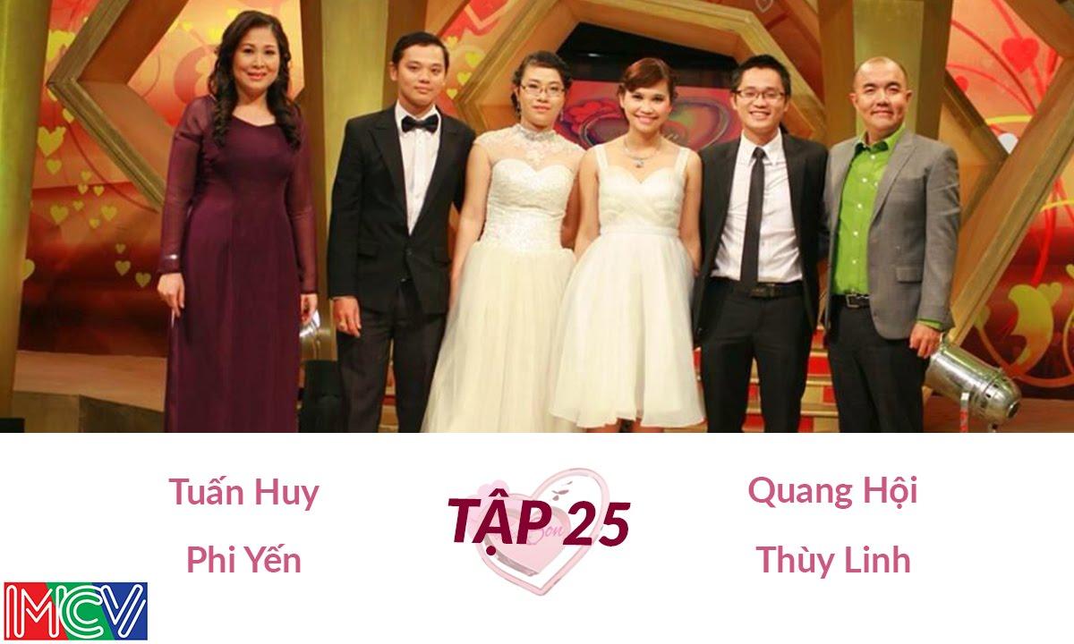 Quang Hội - Thùy Linh và Tuấn Huy - Phi Yến | VỢ CHỒNG SON | Tập 25 | 140126
