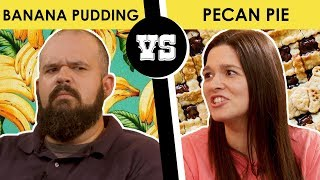 Banana Pudding vs Pecan Pie - Back Porch Bickerin'