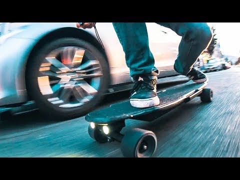 BEST HUB MOTOR Electric Skateboard EVER