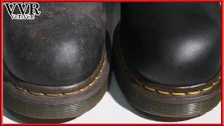 [ASMR] Clean & Restore Dr.Martens Pecos Boots  - 4k