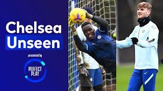 Edouard Mendy is unbeatable between the sticks Reece James returns! | Chelsea Unseen
