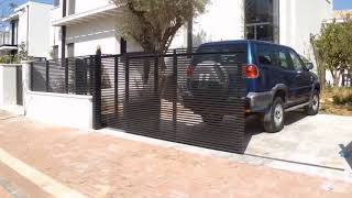 Tandem Telescopic Gate | Mulholland Security Los Angeles 1.800.562.5770