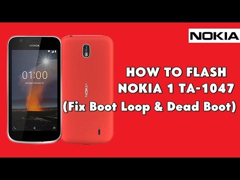 How To Flash Nokia 1 TA-1047 (Fix Boot Loop & Dead Boot) - [romshillzz]
