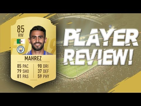 FIFA 19 - 85 RATED RIYARD MAHREZ PLAYER REVIEW | FIFA 19 ULTIMATE TEAM PLAYER REVIEW