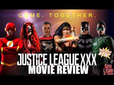 JUSTICE LEAGUE XXX ( 2017 Romi Rain ) Porn Parody Superhero Movie Review
