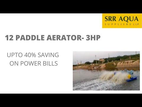12 Paddle Wheel Aerator - 3hp- 12 Paddle
