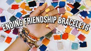 6 WAYS TO START AND END YOUR FRIENDSHIP BRACELETS! *ADJUSTABLE*   DIYholic