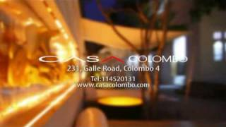 preview picture of video 'CASA Colombo - hottest hotel in Colombo, Sri Lanka'