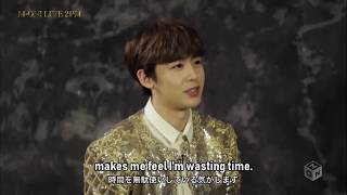 [Eng Sub] To 2PM, A thing never to get tired of?(매일 해도 질리지 않는 것은? 2PM에게 질문)