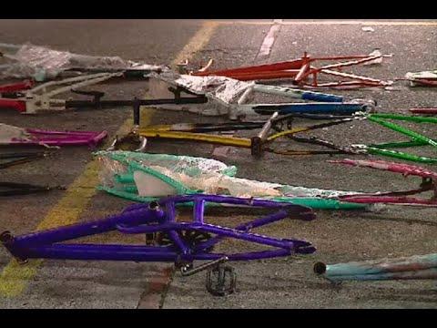 Desmantelan desguazadero de bicicletas en Suba, Bogota - Ojo de la noche