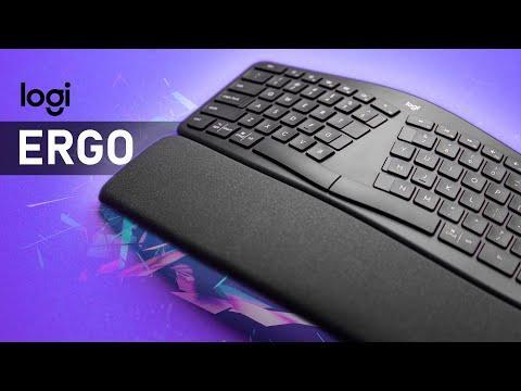 External Review Video 9GuATvWwTLg for Logitech ERGO K860 Wireless Split Ergonomic Keyboard (920-009166)