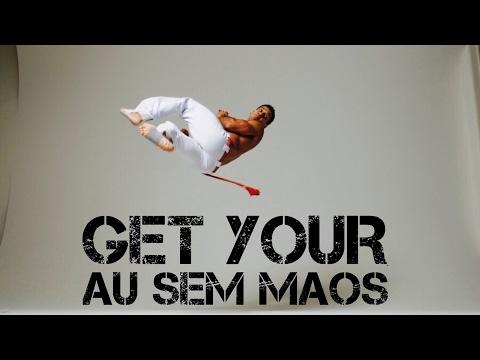 Au sem Mao Tutorial (cartwheel no hands) capoeira training