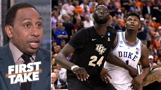 UCF exposed the blueprint for beating Zion, Duke - Stephen A.   First Take