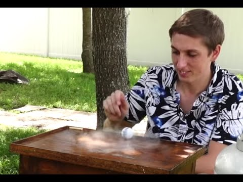 Ping Pong ball filled with liquid nitrogen? Insane Speed!