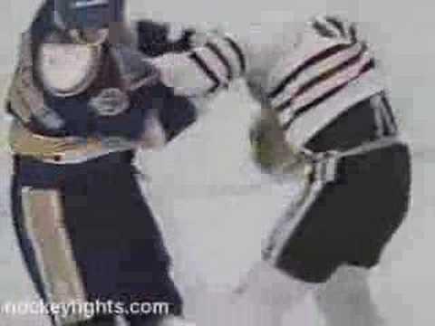 Brent Sutter vs. Garth Butcher