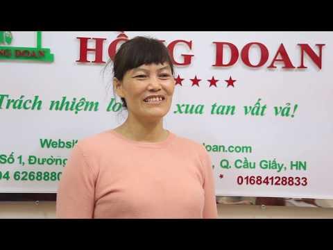 Chị Bùi Thị Miến - Hải Dương chia sẻ về giúp việc Hồng Doan