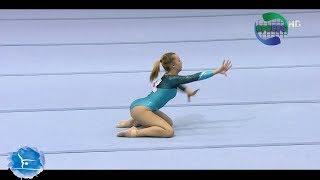 Andreea Ciurusniuc - Floor | Romanian Gymnastics Championships 2018 | ᴴᴰ