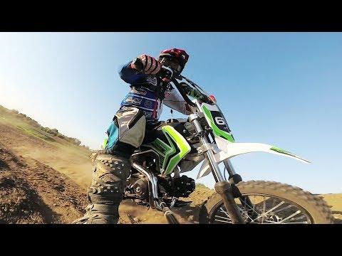 Storm 110cc Pit Bike - Test on Motocross Track