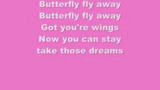butterly fly  away  lyrics -  miley cyrus