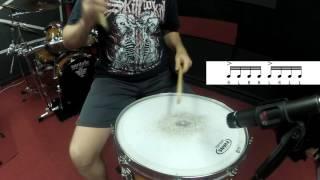 40 essential drum rudiments