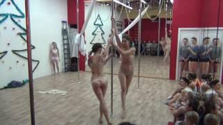 Pole dance (пилон) в школе танцев Study-On, Челябинск, 2016