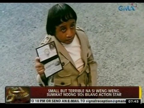 Small but terrible na si Weng-Weng, sumikat noong '80s bilang action star