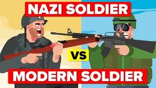 Modern Soldier Vs World War II Nazi - Who Would Win?