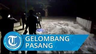 13 Rumah Rusak akibat Hantaman Gelombang Pasang di Desa Bara Kabupaten Buru Maluku