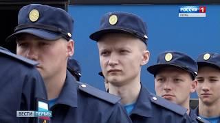 С призывного пункта отправилась будущая элита Российской армии