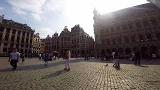 1hr egg timer hyperlapse in Grand Place, Brussels