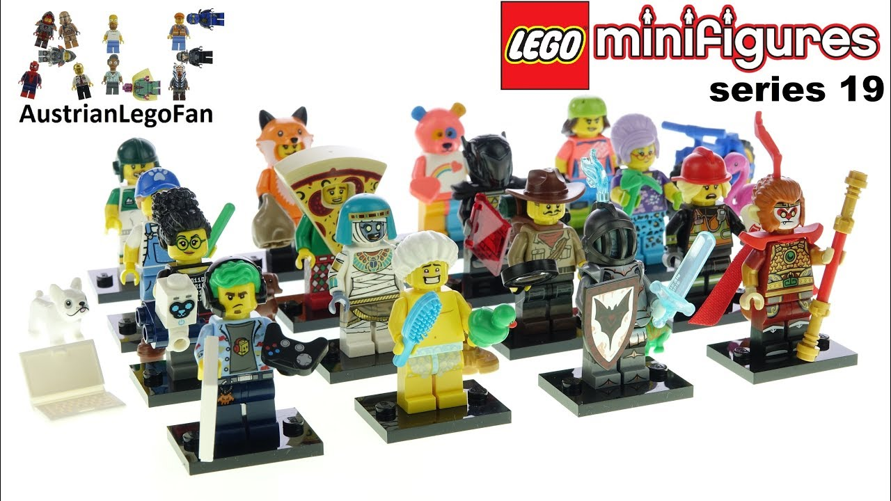 Lego 71025 Minifigures Series 19 - Lego Speed Build Review