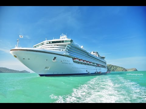 Sapphire Princess Cruise, Singapore, Langkawi, Penang, Malaysia – Our first anniversary trip – 4k HD