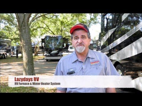 Lazydays RV Service: RV Furnace & Water Heater System