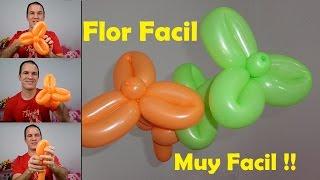 Flor Con Globos Video Video Smotrite - Como-hacer-flores-de-globos