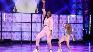 Ellen welcomed 9-year-old Anae and her dance instructor Jeny, who recently went viral with a video of them dancing together. The Belgian dancers chatted with Ellen about how they hope their duo is sharing a message of love and positivity in the world, and they later took the stage to show off their incredible moves.   Brought to you by: Shutterfly  #TheEllenShow #Ellen #EllenDeGeneres