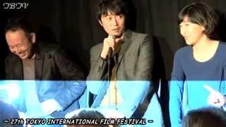 「百円の恋」舞台挨拶/後編~エンディングの秘密を暴露〆