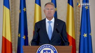 Iohannis: Parlamentarii au datoria de a pune în aplicare ce au promis; simpla retorică nu are rostul